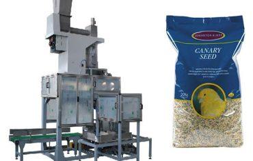 20kg tohum tohum açık ağız torbalama ve torba dolum terazi