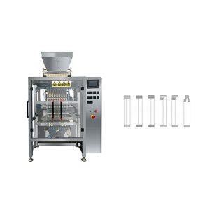8 Hat Çok Çizgilu Poşet Sopa Şeker Paketleme Makinası