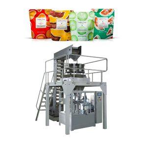 Fermuarlı Çanta için Otomatik Dolum Paketleme Makinesi