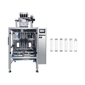 Kahve, Süt için Otomatik Çok Şeritli Poşet Sopa Toz Paketleme Makinesi