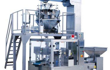 otomatik kahve çekirdeği gıda döner fermuar kese paketleme makinesi