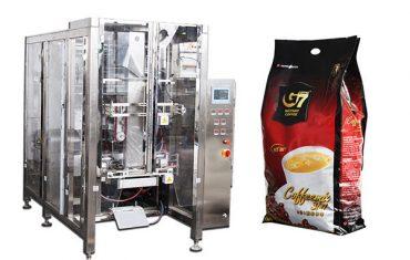 otomatik dörtlü mühür torbası paketleme makinesi volumetrik fincan dolum makinası