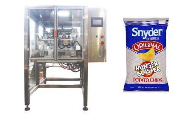 sürekli hareket dikey aperatif yiyecek granül paketleme makinesi