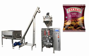 100g-500g köri tozu paketleme makinesi