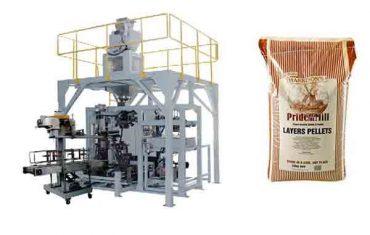 tahıl granül ağır torba paketleme makinesi besleme