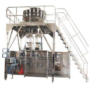 Granül için Multihead Terazi ile Yatay Prefabrik Paketleme Makinası