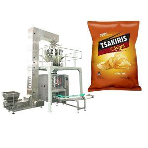 Patates Cipsi Paketleme Makinası