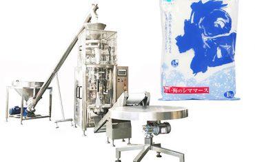 volumetrik fincan ile tuz dikey form doldurma mühür makinesi
